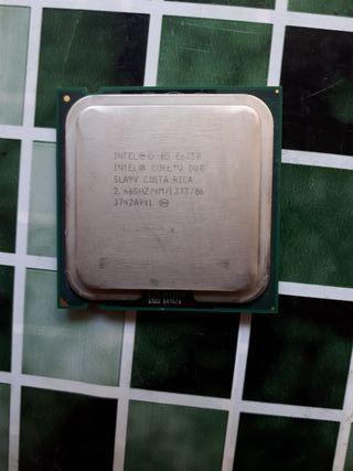 procesador / CPU Intel Core 2 duo e6750