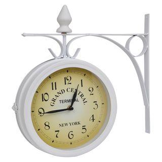 vidaXL Reloj De Pared De Dos Caras 30039