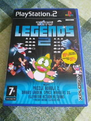 Taito Legends 2 Pal España Completo Ps2