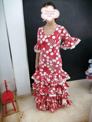 Traje flamenca talla 40-42