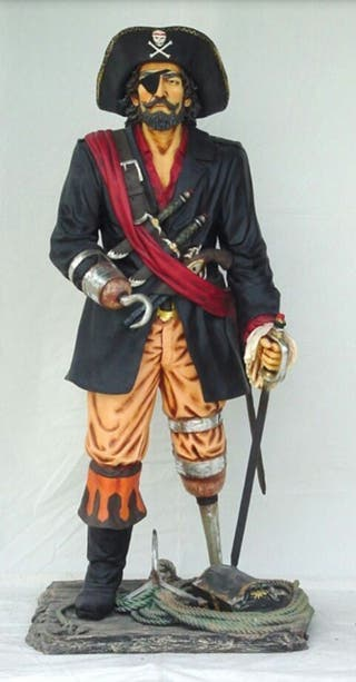 figura pirata decoracion