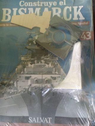 Vendo piezas para montar maquetas de barco