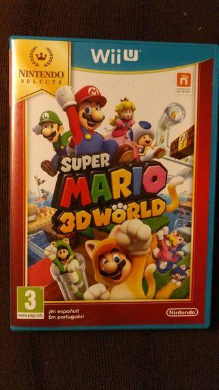 SUPER MARIO 3D WORLD PARA WII U