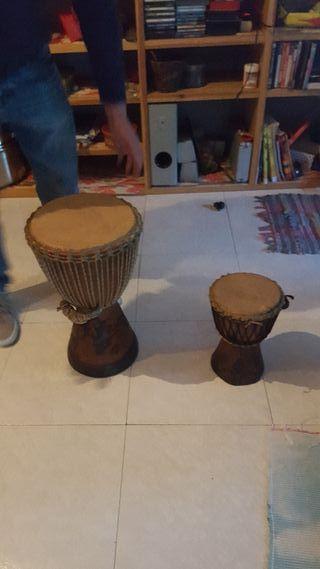 instrumentos de percusión africanos