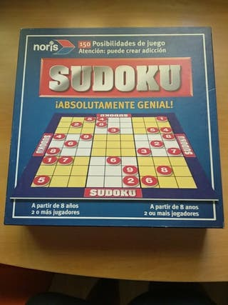 Juego educativo de mesa Sudoku