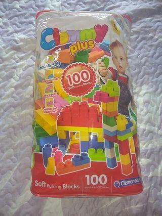 100 piezas construcción para bebé