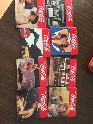 8 posavasos de Coca Cola