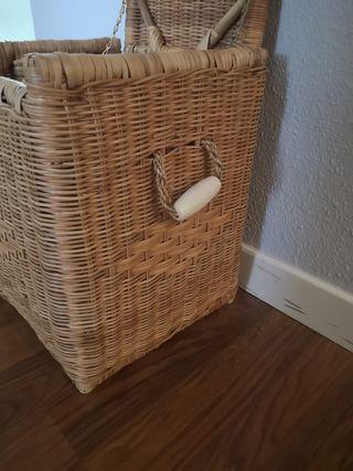 cesta mimbre ropa sucia ikea asas ceramicas