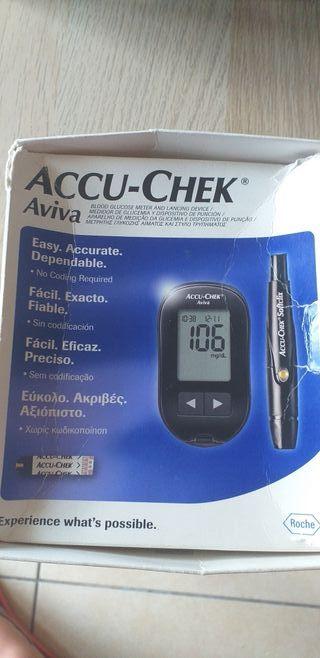medidor de glucemia azúcar en sangre