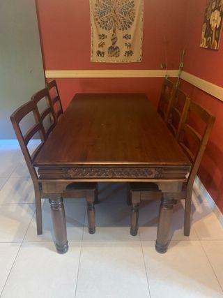 Mesa de comedor+ 6 sillas