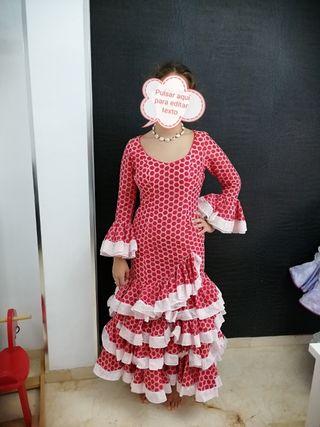 Traje flamenca talla 36-38
