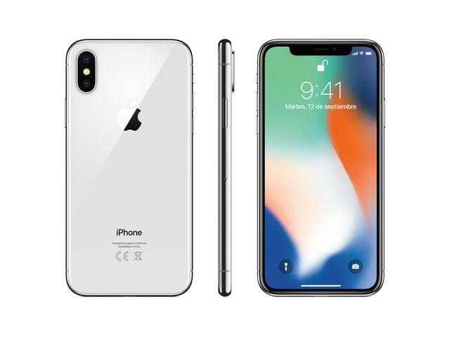 iPhone X 64GB GRIS O PLATA (reacondicionado)