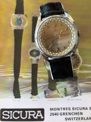 Reloj Sicura vintage