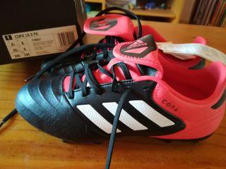 botas de fútbol Adidas copa piel talla 39 1/3