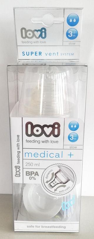 Biberon Lovi Medical + Sin BPA 250ml