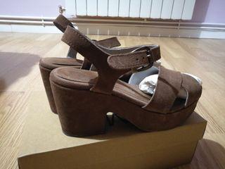 Zapatos piel Mimao talla 40