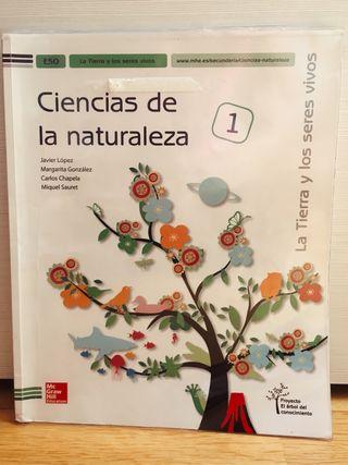 Libro de ciencias de la naturaleza