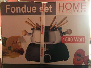 Fondue home electric