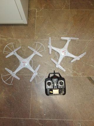dron con cámara