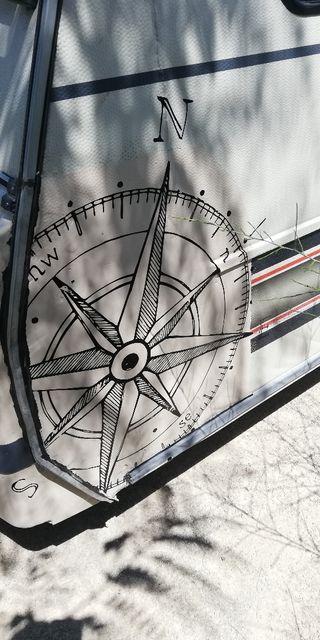 caravana burstner 390