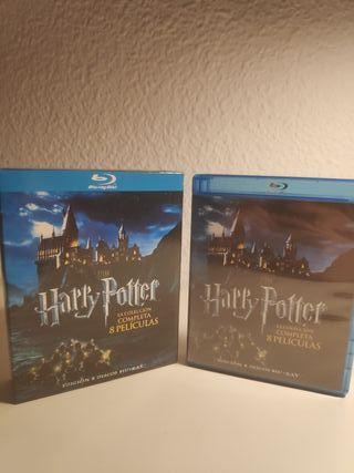 Harry Potter Colección Completa 8 discos Blu-Ray
