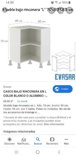 Mueble de cocina de segunda mano en la provincia de Madrid en WALLAPOP