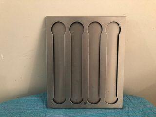 Porta cápsulas en acero