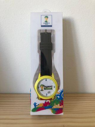 Reloj oficial colección mundial copa Brasil 2014