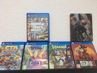 Vendo PS4 1tb con 6 juegos