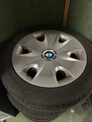 BMW serie 1: 4 ruedas de invierno con llantas