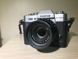Fujifilm X-T20 Plata