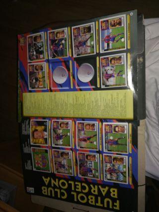 album fútbol liga 97/98