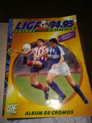 album fútbol 94/95
