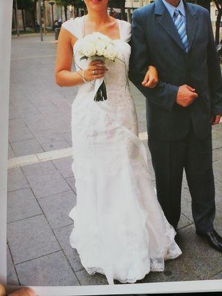34e652ee95fb Vestido boda de segunda mano en Sabadell en WALLAPOP