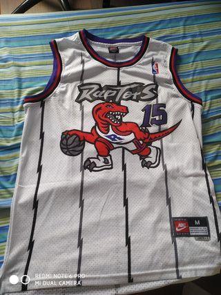 Camiseta NBA Raptors Blanca