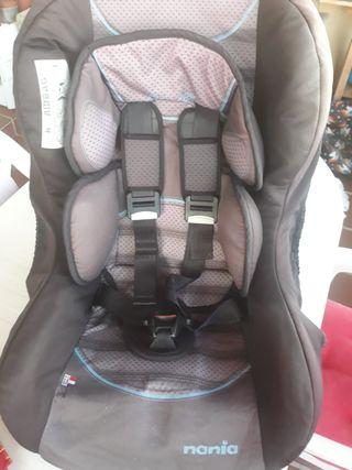 silla para coche de niños
