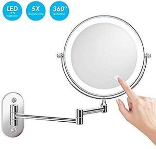 Espejo aumento X5 nuevo para baño