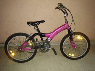 Bicicleta BMX edad 7 a 12 años