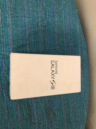 Caja (solo caja) Samsung galaxy S3