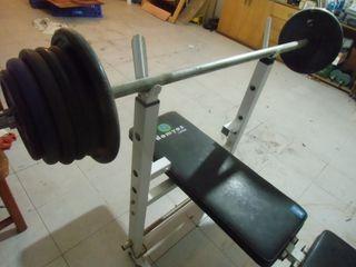 Banca de pesas