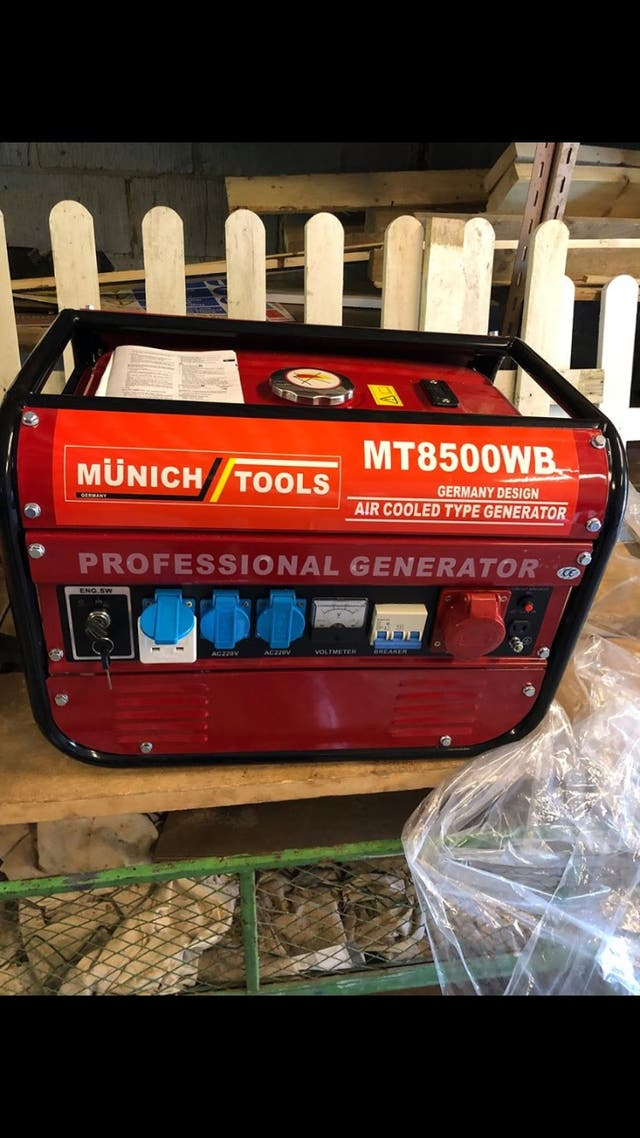 Brand new 8.5 kVA generator key start