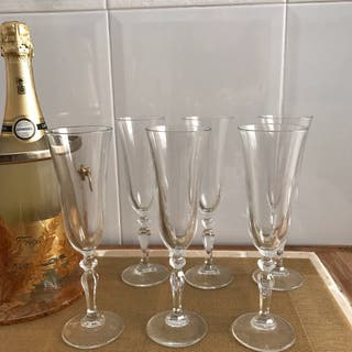 Copas cava/champán