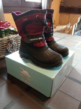 snow boots talla 34