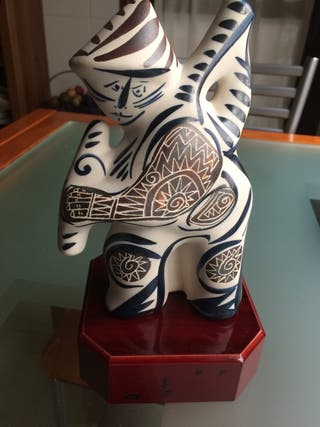 Figura cerámica gallega
