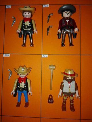 Playmobil figuras oeste a 2,50€ cada una