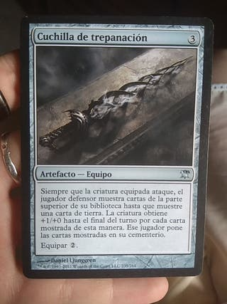 Cuchilla de trepanación CARTA MAGIC