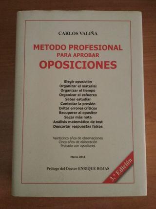 Método profesional para aprobar oposiciones