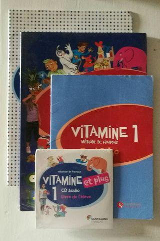 Francés.Vitamine. 1° SECUNDARIA. Santillana