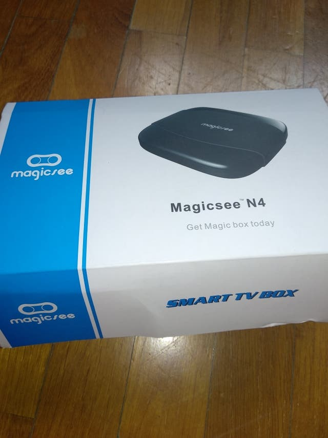 Smart TV box nueva