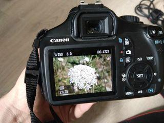 Canon 1100D con objetivo 18-55 mm III